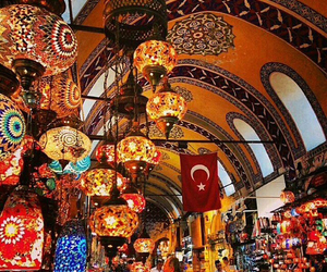 luminarias, istambul, and turquia image
