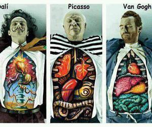 picasso, dali, and art image