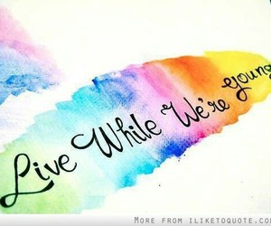 one direction, live while we're young, and live image