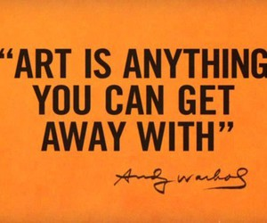 art, quotes, and andy warhol image