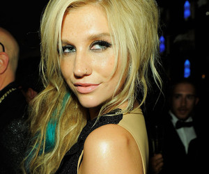 kesha, ke$ha, and blonde image