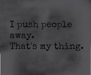 quote, people, and push image