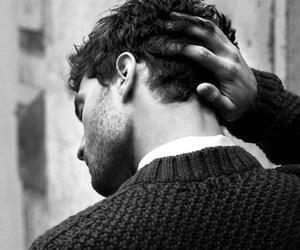 Jamie Dornan, boy, and man image