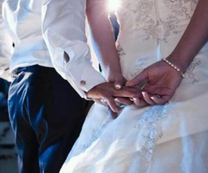 love, marriage, and wedding image
