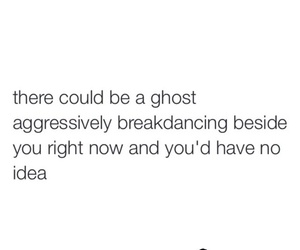 breakdancing, funny, and ghost image