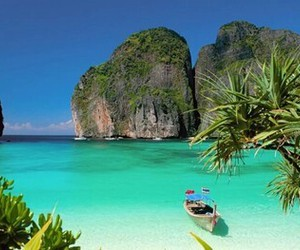 beach, thailand, and summer image