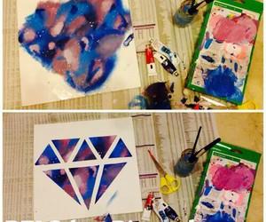 diy, diamond, and galaxy image