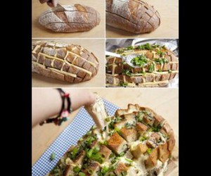 bread, cheese, and diy image