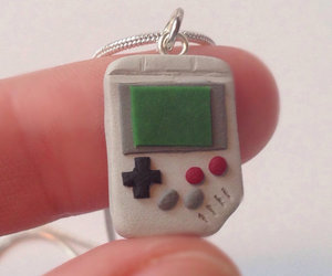 gameboy, geekery, and jewelry image