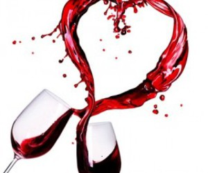 valentinesday, wine, and love image