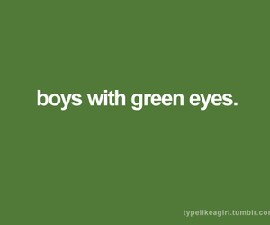 boys and green eyes image