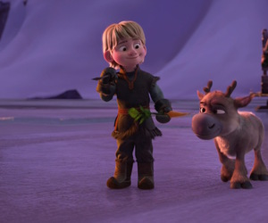 frozen, sven, and kristoff image