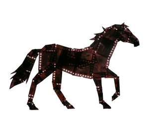 animal, film, and horse image