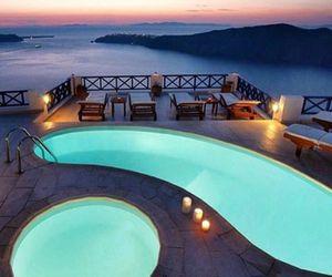 pool, beautiful, and luxury image