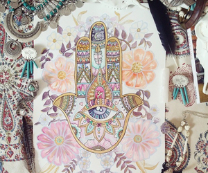 art and hamsa image