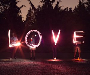 love, light, and friends image