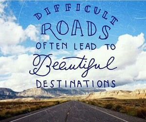 beautiful, destinations, and difficult image