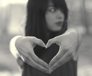 hands, heart, and cute image