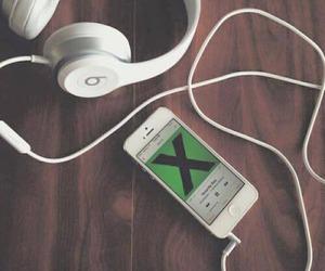 music, ed sheeran, and beats image