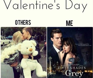 valentine, Valentine's Day, and fifty shades of grey image
