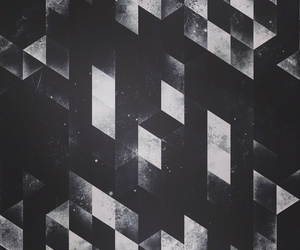 abstract, dark, and geometric image