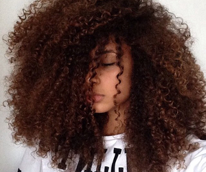 Afro, big, and curls image