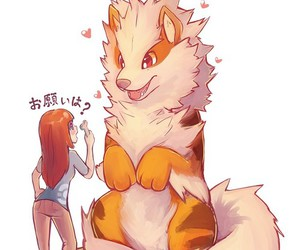 pokemon, arcanine, and kawaii image