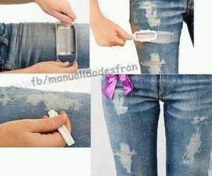 jeans and tutorial image