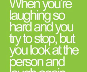 laugh and quote image