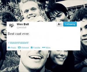 the maze runner, dylan o'brien, and actor image
