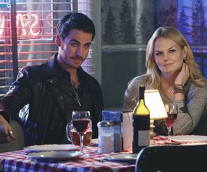 once upon a time, captain hook, and emma swan image