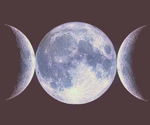 crone, crescent, and full image