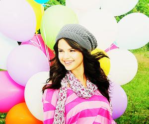 balloons, selena gomez, and fashion image