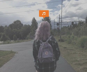 music, girl, and grunge image