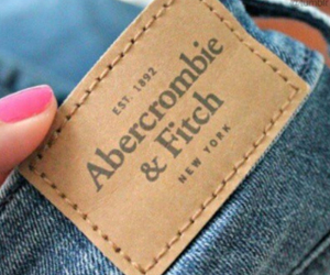 abercrombie and fitch, blue, and brown image