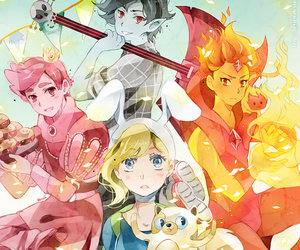 adventure time, marshall lee, and anime image