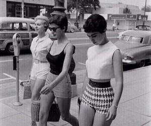 50's and girls image