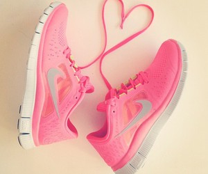 athletic, heart, and nike image