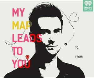 card, Lyrics, and map image