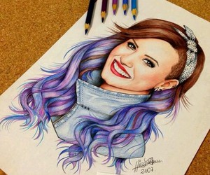 demi lovato and drawing image