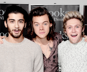niall horan, zayn malik, and Harry Styles image