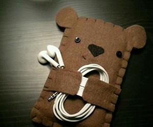 bear and phone image