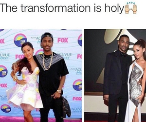 funny, big sean, and ariana grande image