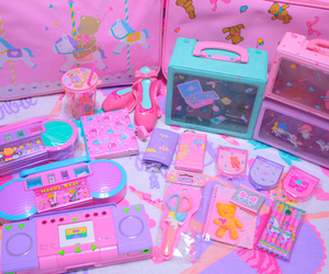 pink, pastel, and kawaii image