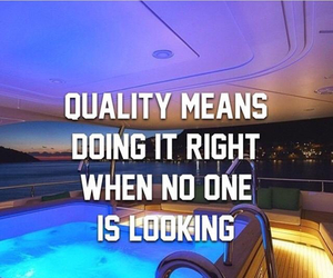 quality and quote image