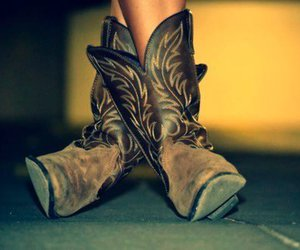 boots, country, and cowboy boots image