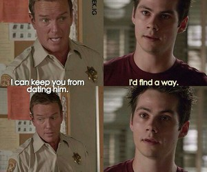 dad, funny, and teen wolf image
