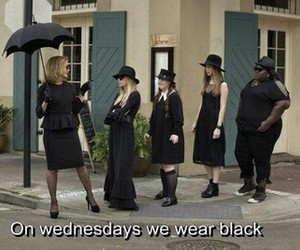 black, witch, and wednesday image