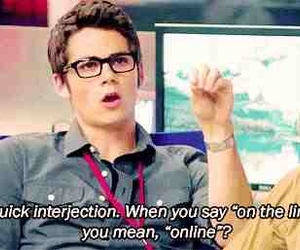 dylan o'brien, online, and the internship image