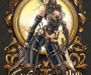 comic, steampunk, and lady mechanika image